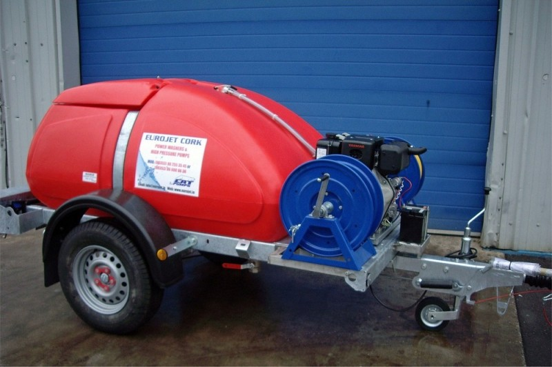 Cold Water Yanmar Cat Pump Bowser  from Eurojet, Cork - delivered throughout Ireland